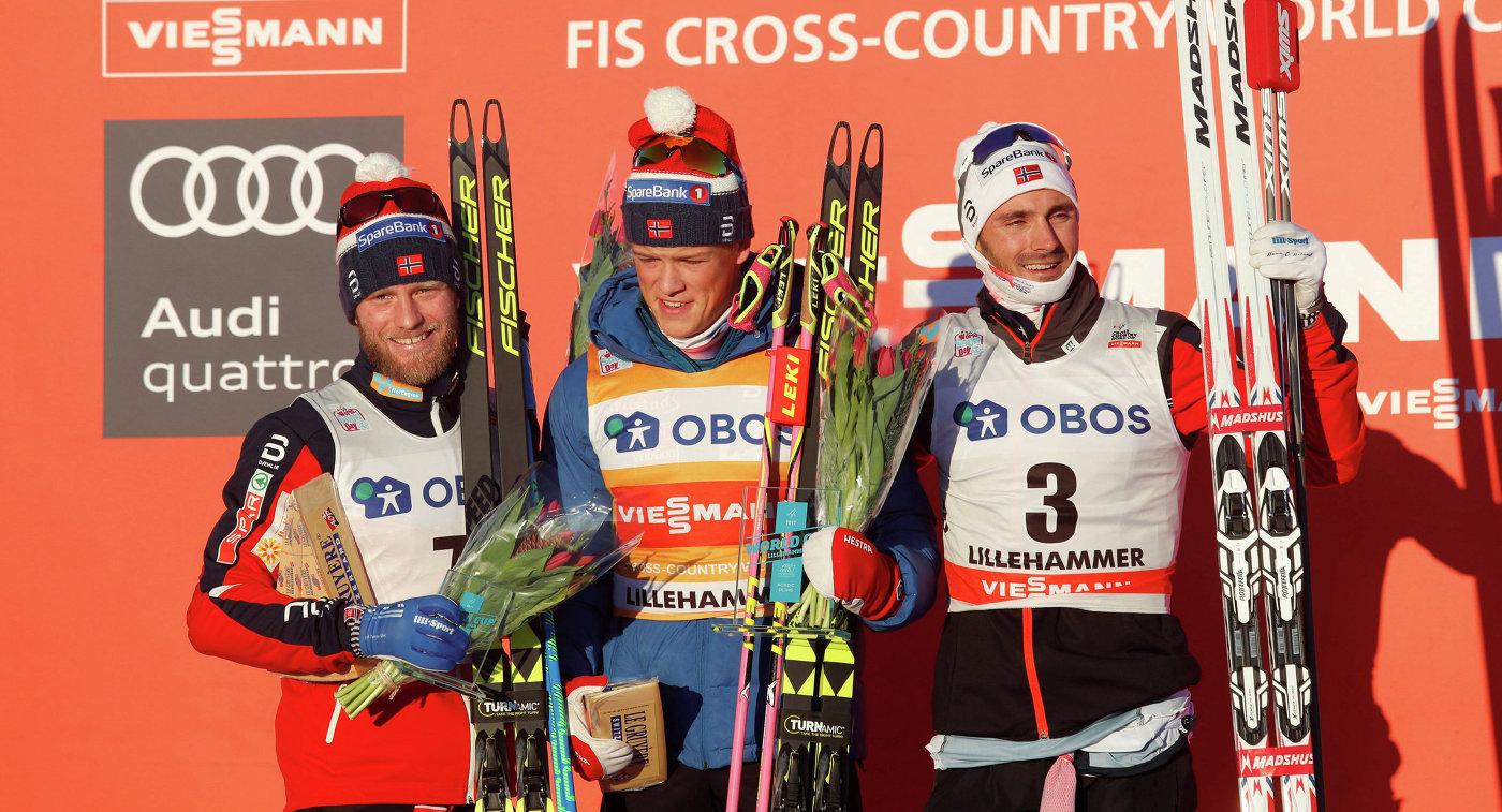 Тюменский лыжник занял 2-ое место наКубке мира