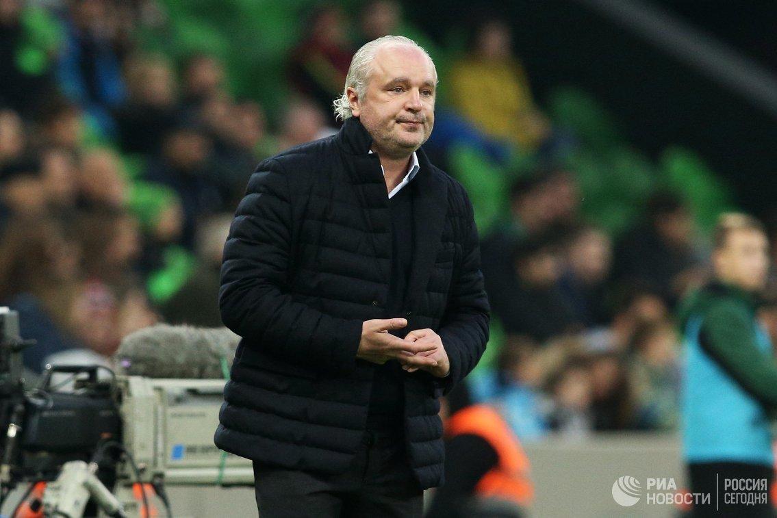 Главный тренер ФК Краснодар Игорь Шалимов