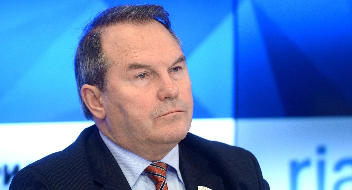Член Совета Федерации Игорь Морозов