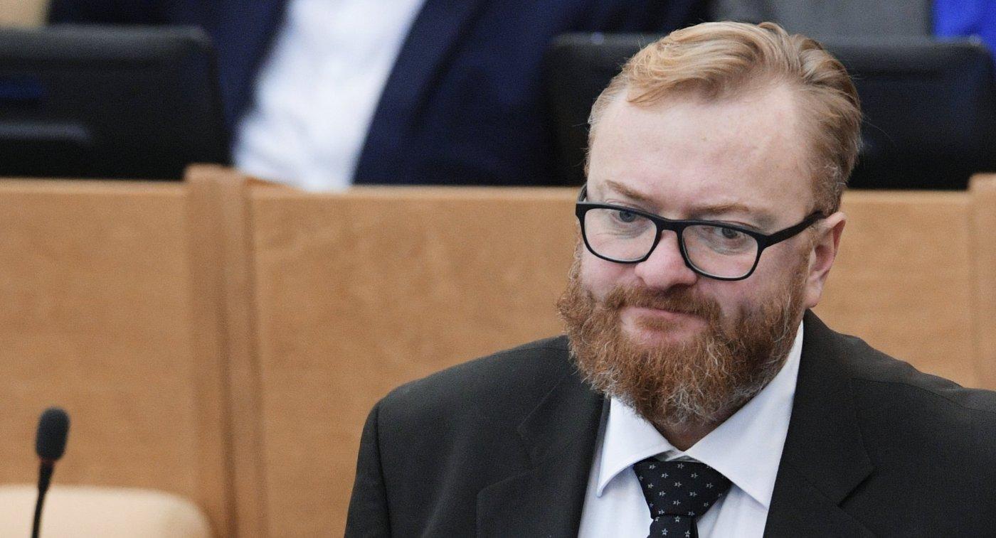 Милонов просит губернатора Петербурга не посылать спортсменов наОлимпиаду