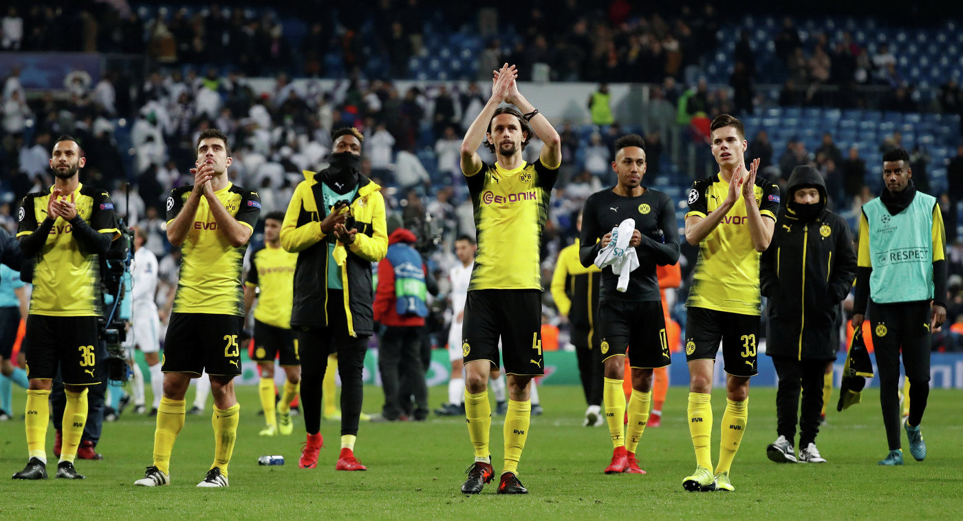 «Реал» одержал победу  у«Боруссии», «Тоттенхэм» разгромил АПОЭЛ