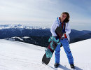 Бронзовый призер Олимпиады в Сочи скелетонистка Елена Никитина