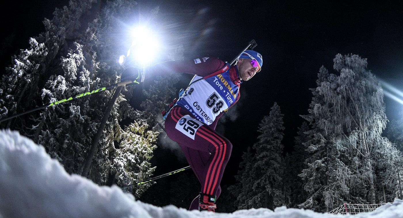 Русские биатлонисты стали вторыми всмешанной эстафете нашвейцарском этапе Кубка IBU