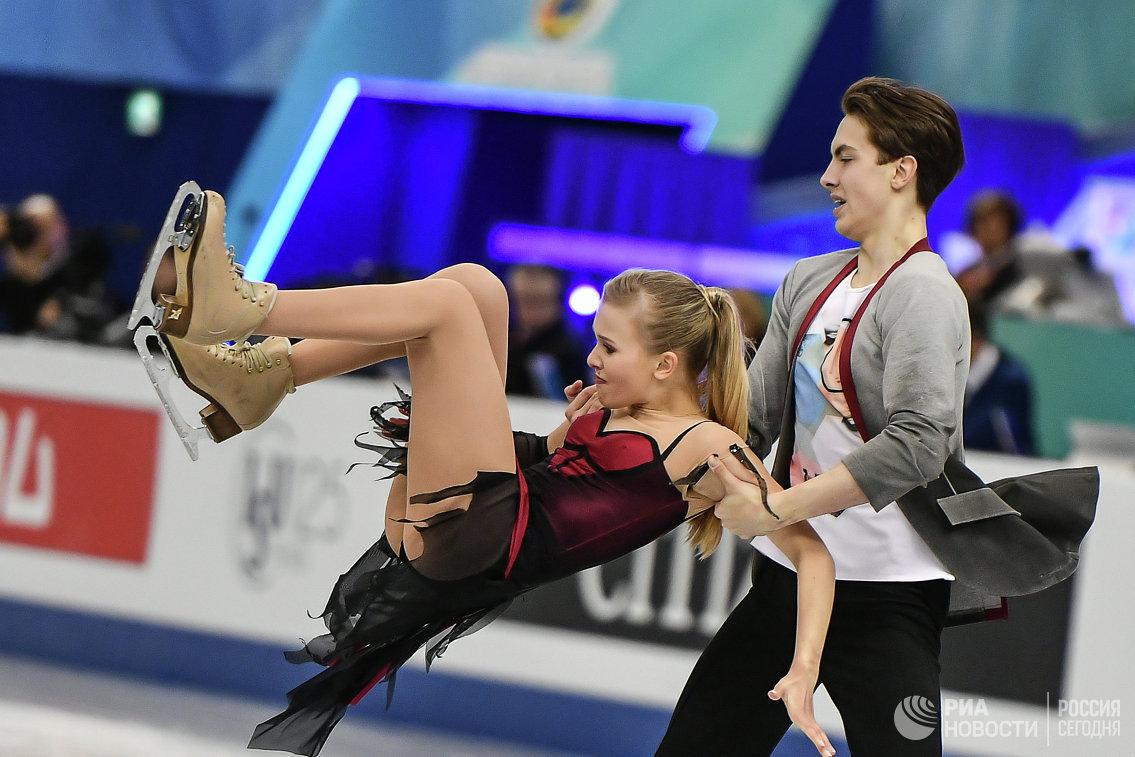 Анна Ушакова и Максим Некрасов