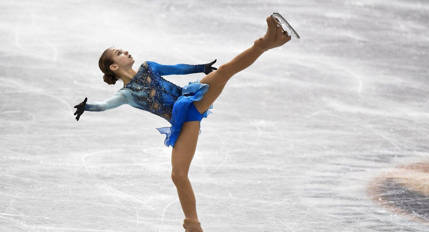 Картинки по запросу Российские фигуристки заняли весь пьедестал в финале юниорского Гран-при