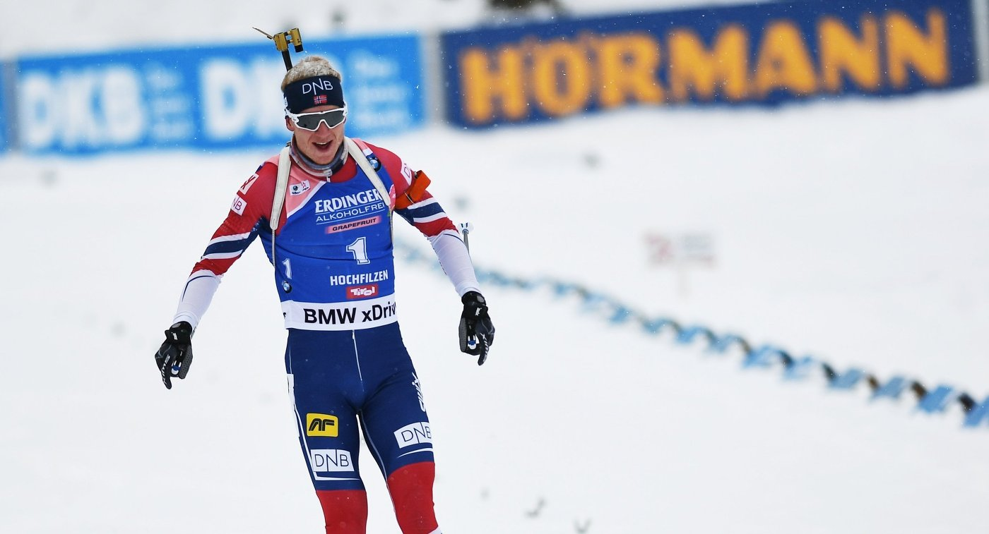 Победителем спринта наэтапе Кубка мира вАнси стал норвежец Йоханнес Бе