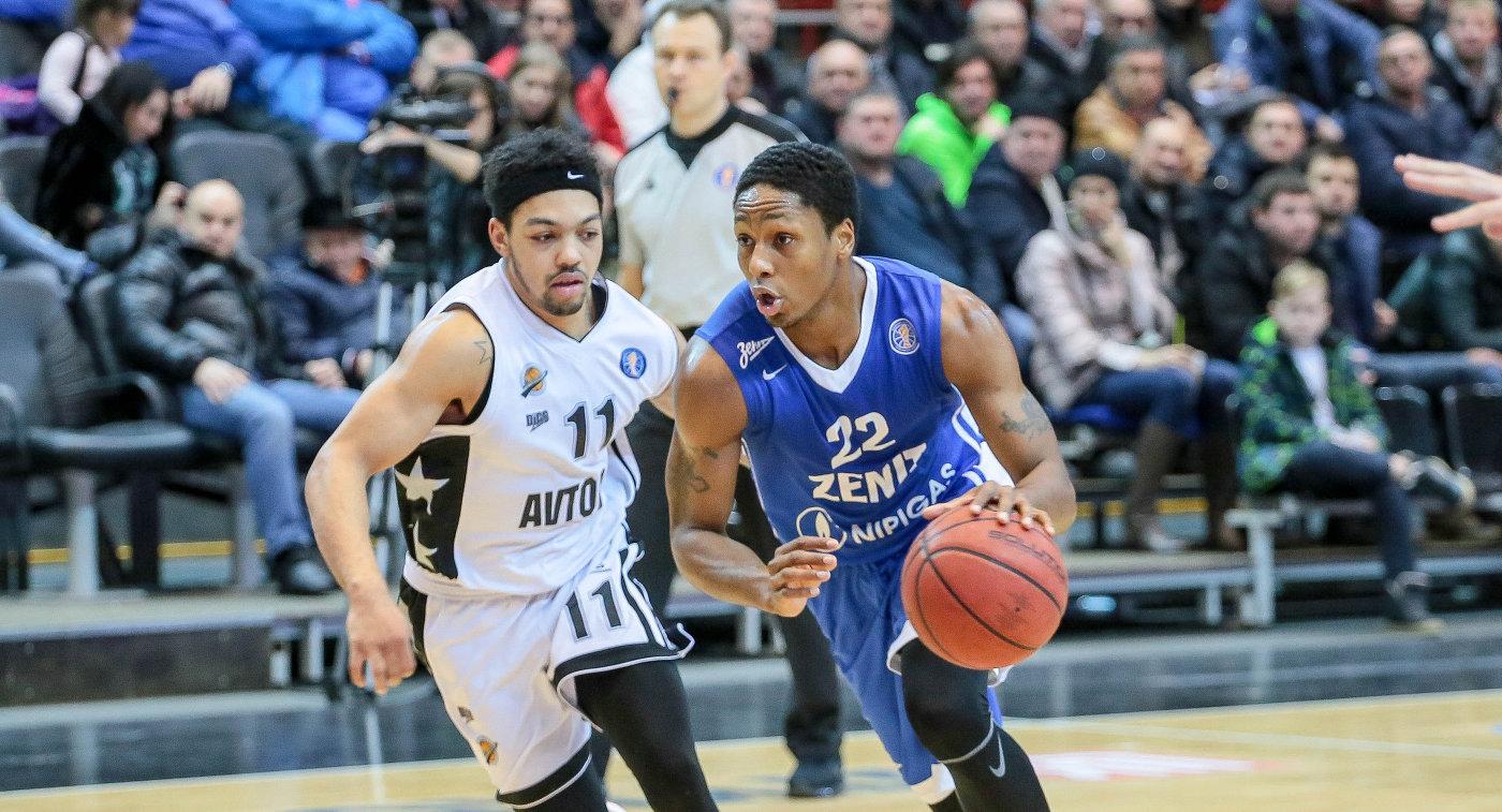 «Зенит» одержал седьмую победу подряд вбаскетбольной Единой лиге ВТБ, обыграв «Автодор»