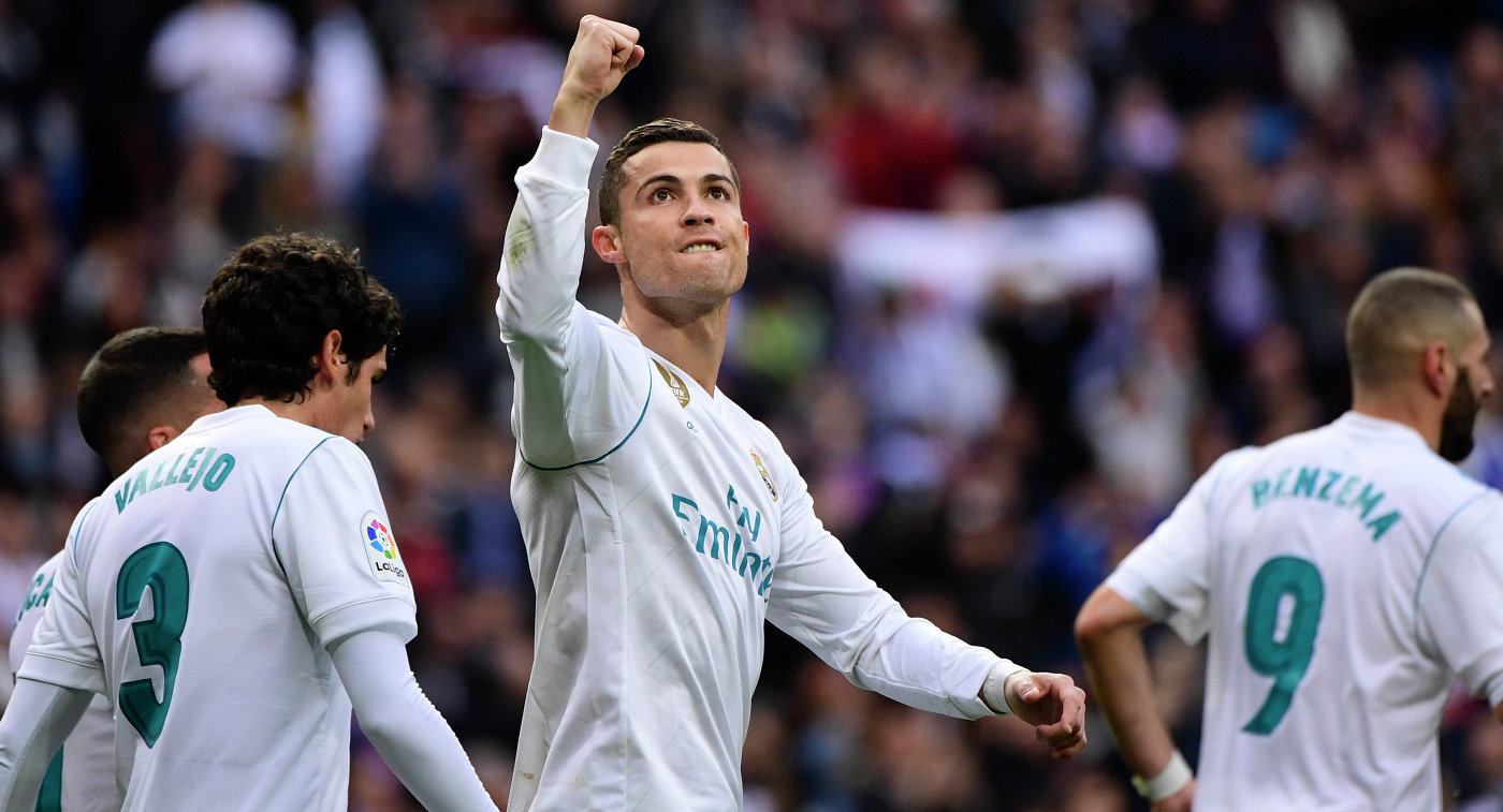 «Реал» разгромил «Севилью» благодаря дублю Роналду