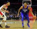 Игровой момент матча НБА Вашингтон Уизардз - Лос-Анджелес Клипперс
