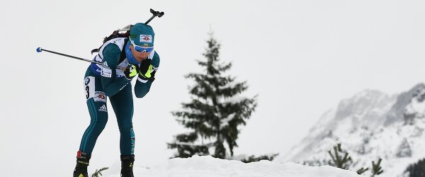 Биатлонистка сборной Украины Вита Семеренко
