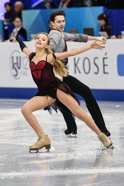 Арина Ушакова и Максим Некрасов