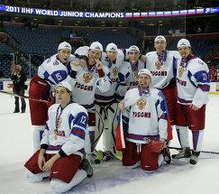 Хоккеисты молодежной сборной России (2011 год)