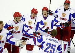 Хоккеисты молодежной сборной России (2012 год)