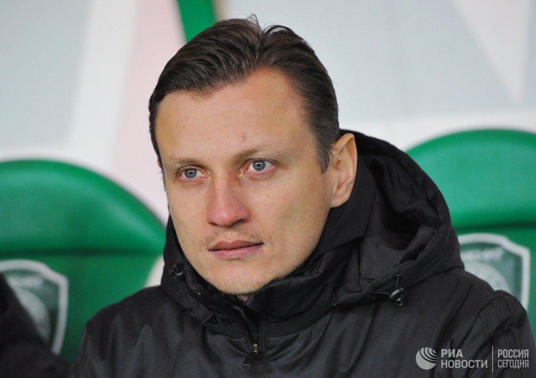 Исполняющий обязанности главного тренера Ахамата Михаил Галактионов