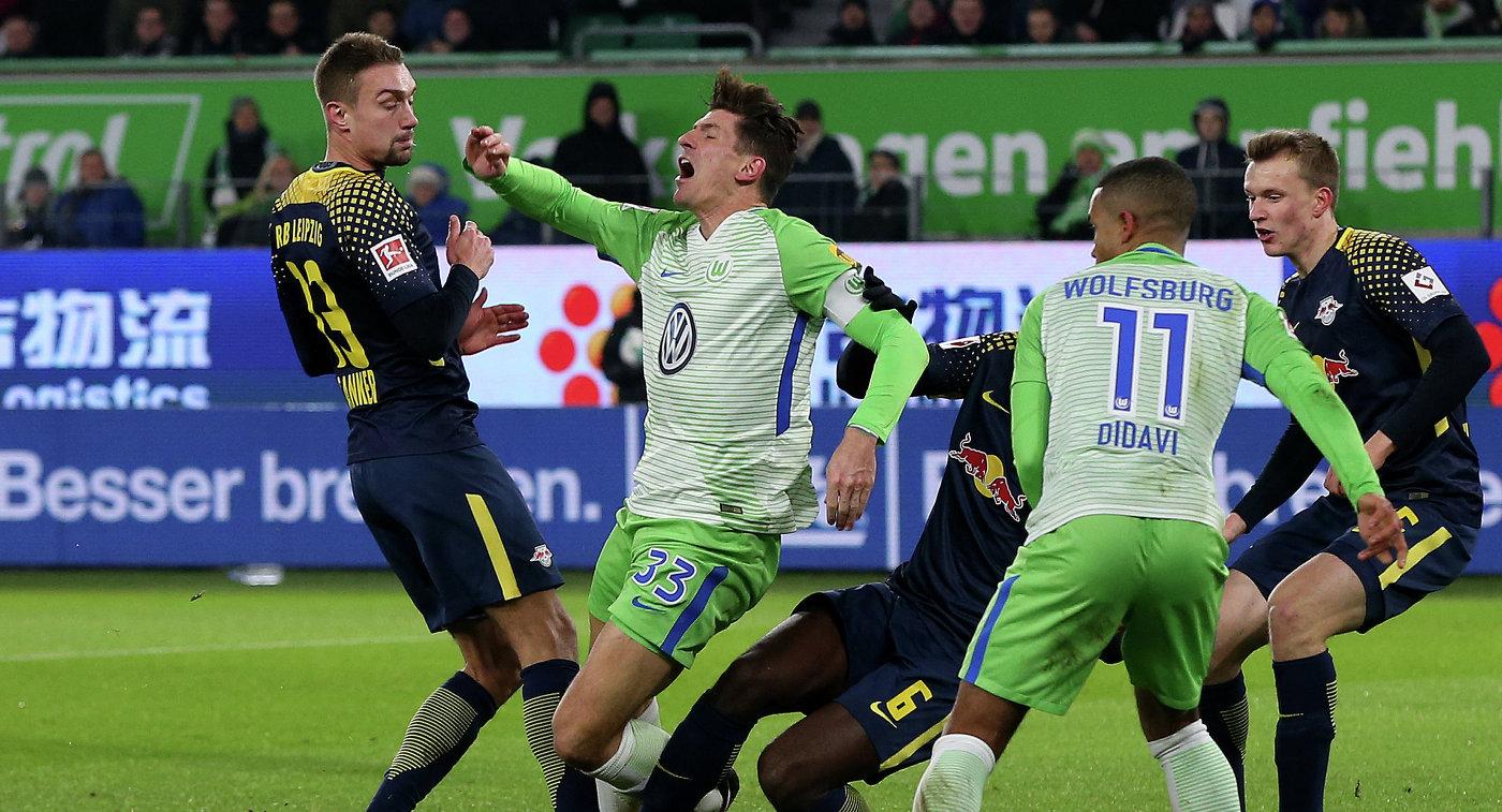 «РБЛейпциг» несмог воплотить свои шансы ипотерял очки с«Волфсбургом»