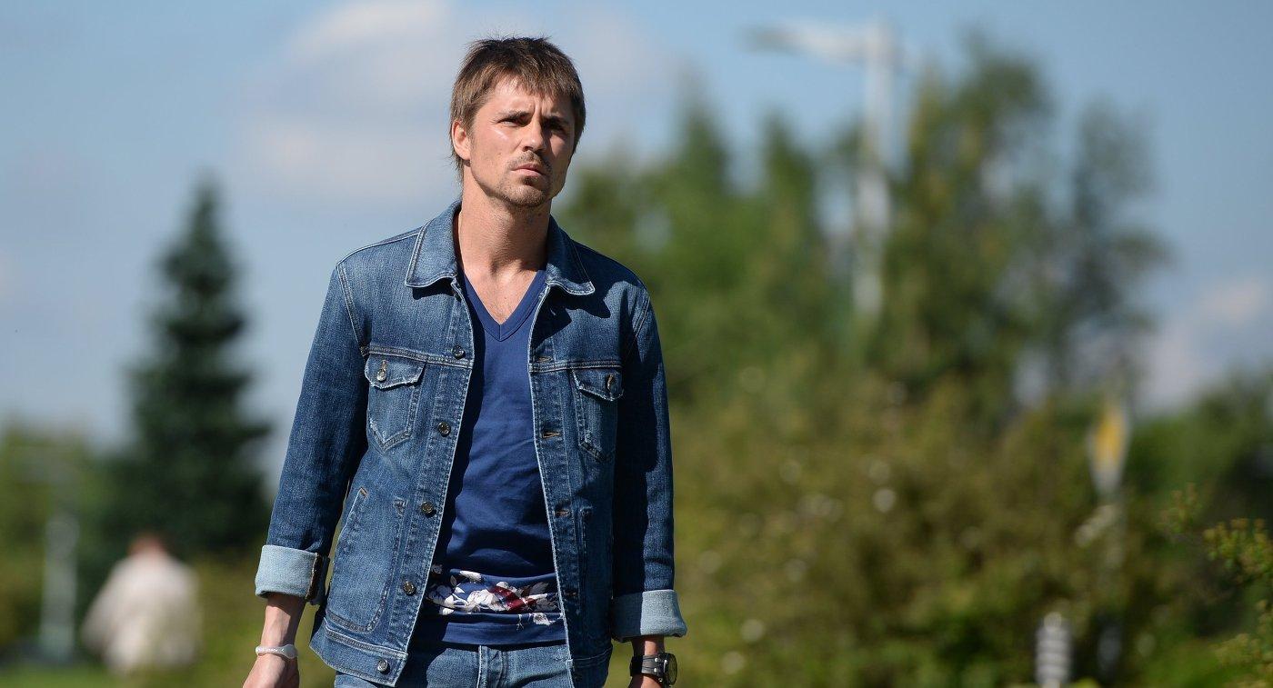 Защитник сборной России Дмитрий Торбинский