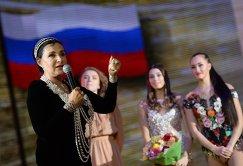 Ирина Винер-Усманова на торжественной церемонии официального открытия Центра гимнастики Ирины Винер-Усмановой