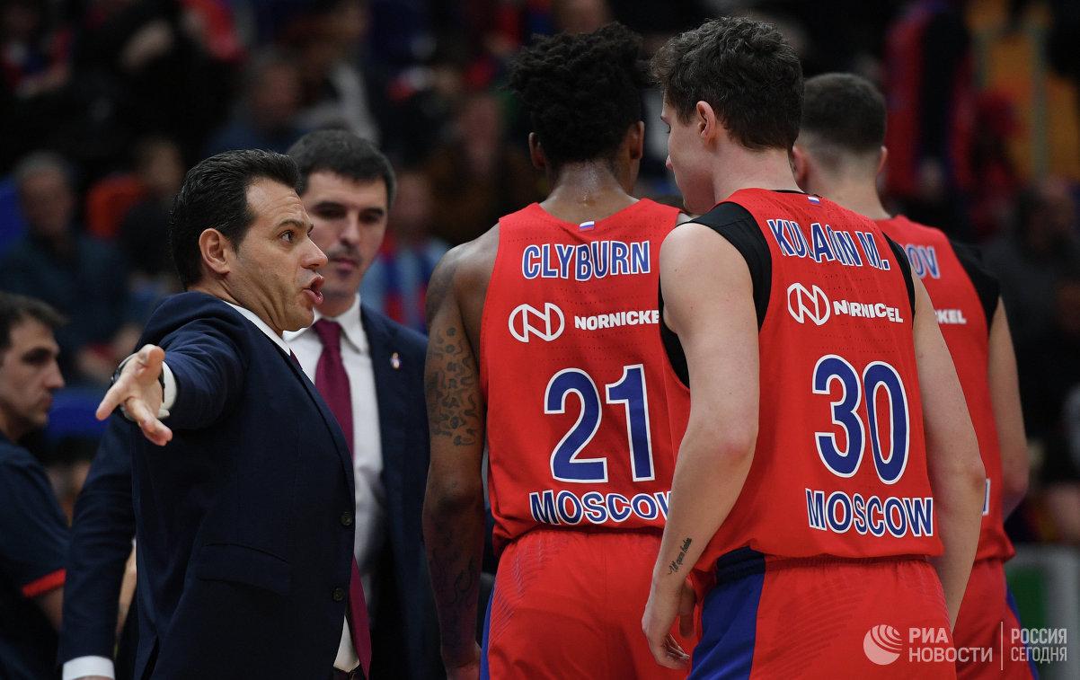 ЦСКА переиграл «Маккаби» вматче баскетбольной Евролиги