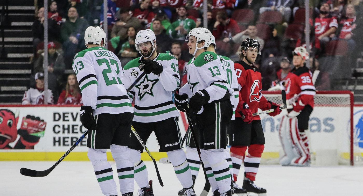 Шайба Радулова помогла «Далласу» переиграть «Айлендерс» в постоянном чемпионате НХЛ