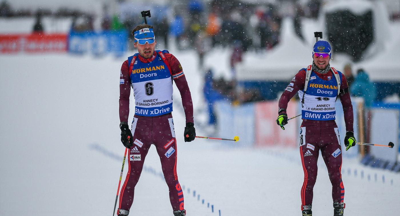Логинов сократил отставание от Шипулина в рейтинге Союза биатлонистов России