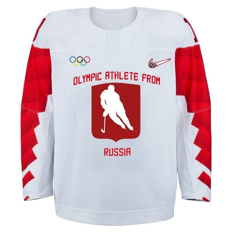 Представлена форма хоккейной сборнойРФ снейтральным флагом