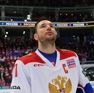 Форвард сборной России Илья Ковальчук