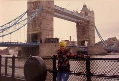 Наталья Гольц в Лондоне