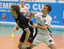 Игровой момент матча между командами Синара и Тюмень