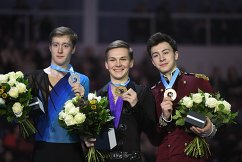 Александр Самарин, Михаил Коляда и Дмитрий Алиев (слева направо)