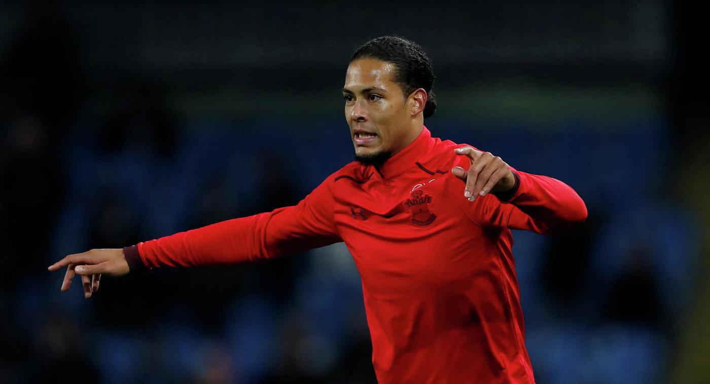 «Ливерпуль» договорился опереходе футболиста «Саутгемптона» ван Дейка