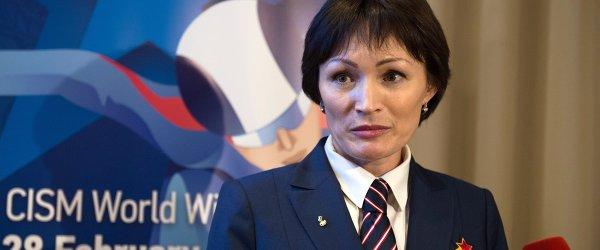 Двукратная олимпийская чемпионка по биатлону Светлана Ишмуратова