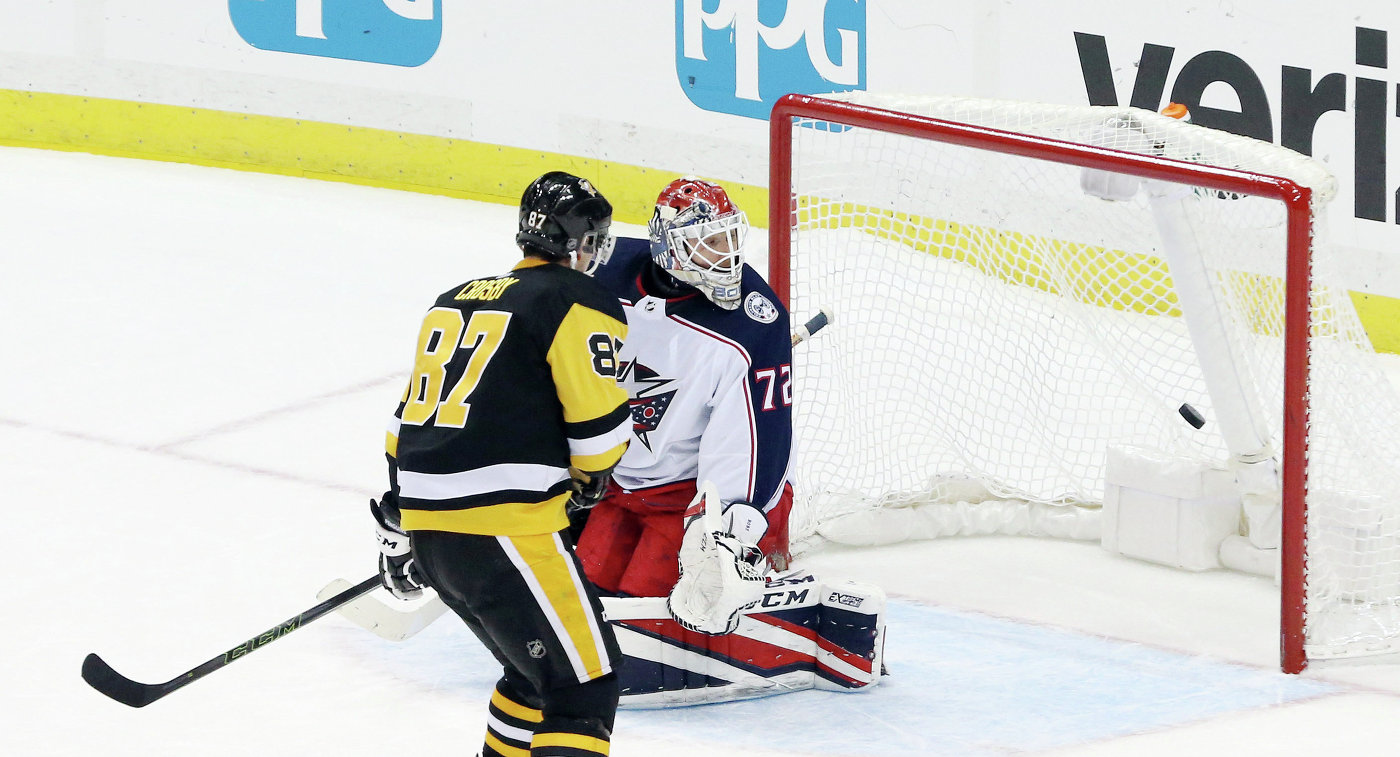 «Питтсбург» побуллитам победил «Коламбус» вматче НХЛ, Малкин набрал 3 очка