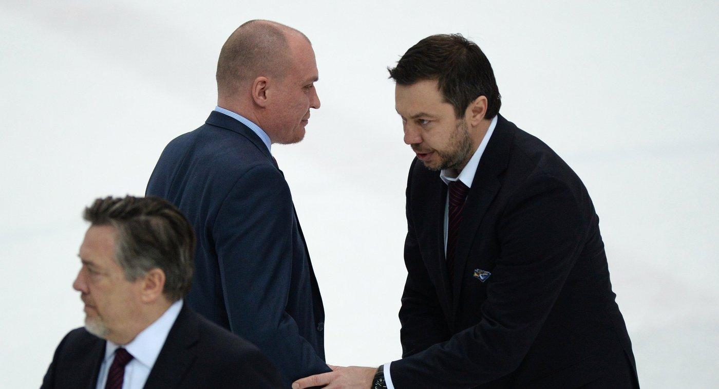 Андрей Разин назначен напост основного тренераХК «Адмирал»