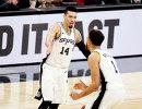 Баскетболисты Сан-Антонио Дэнни Грин и Кайл Андерсон