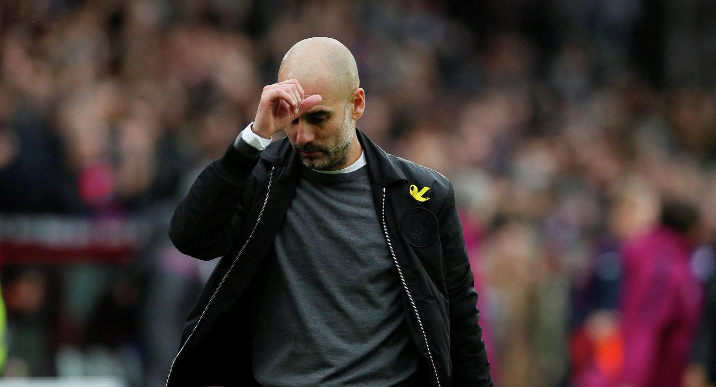 Главный тренер Манчестер Сити Хосеп Гвардиола
