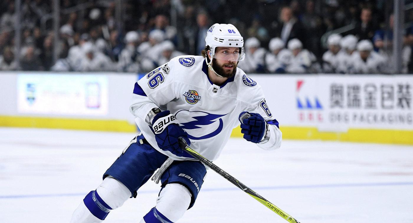 Никита Кучеров признан третьей звездой 2017 года в НХЛ