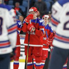 Защитник молодежной сборной России по хоккею Анатолий Елизаров