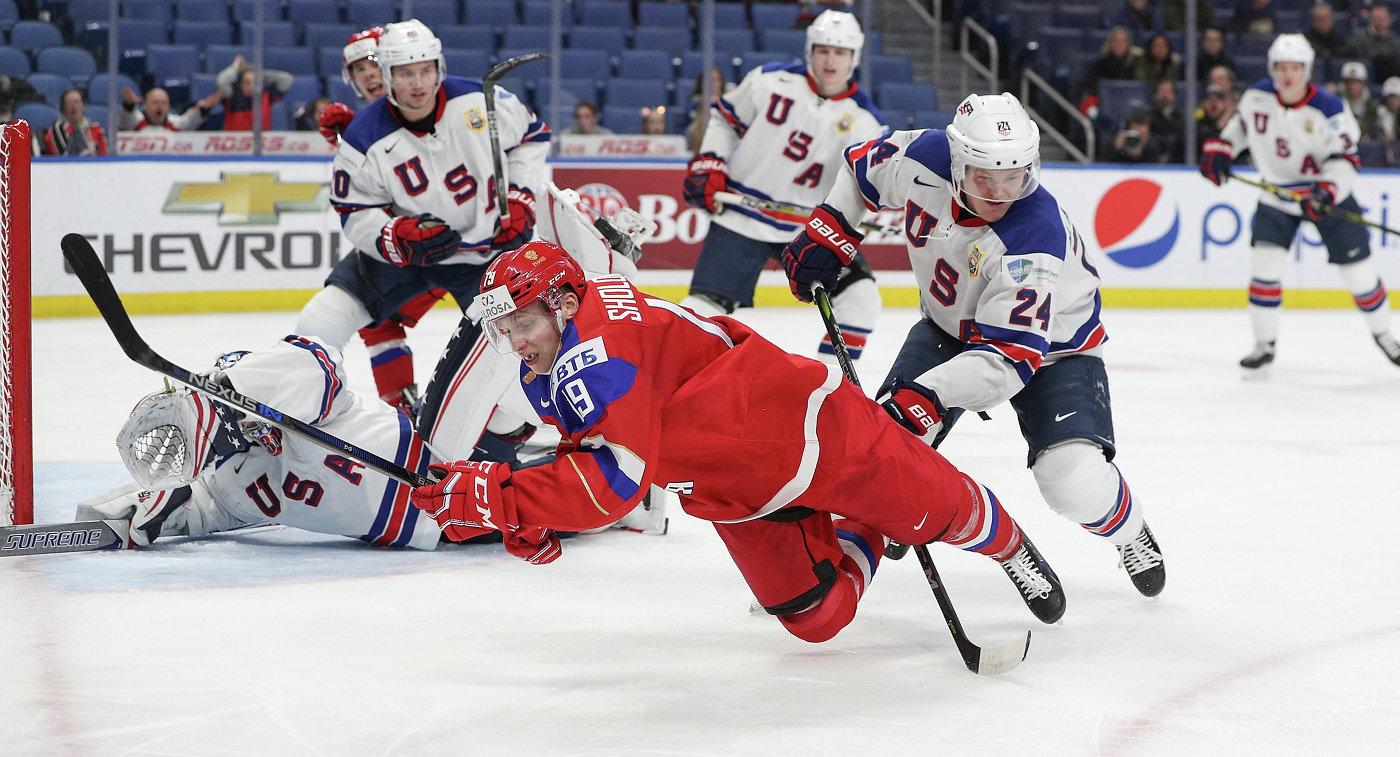 прогноз сша россия хоккей молодежка
