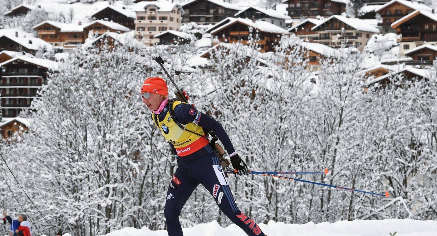 Биатлонистка Кузьмина выиграла гонку преследования наэтапеКМ