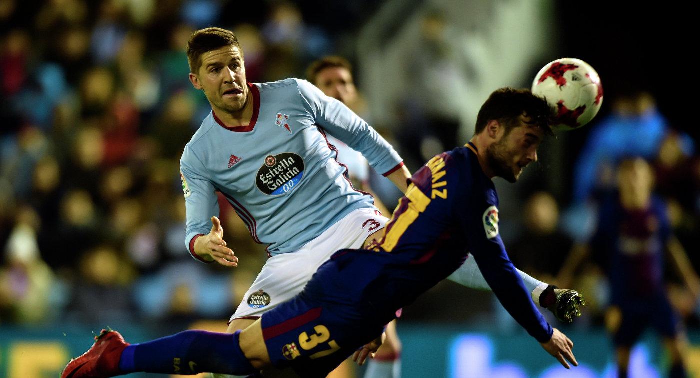 «Барселона» и«Сельта» сыграли вничью вматче 1/8 финала Кубка Испании