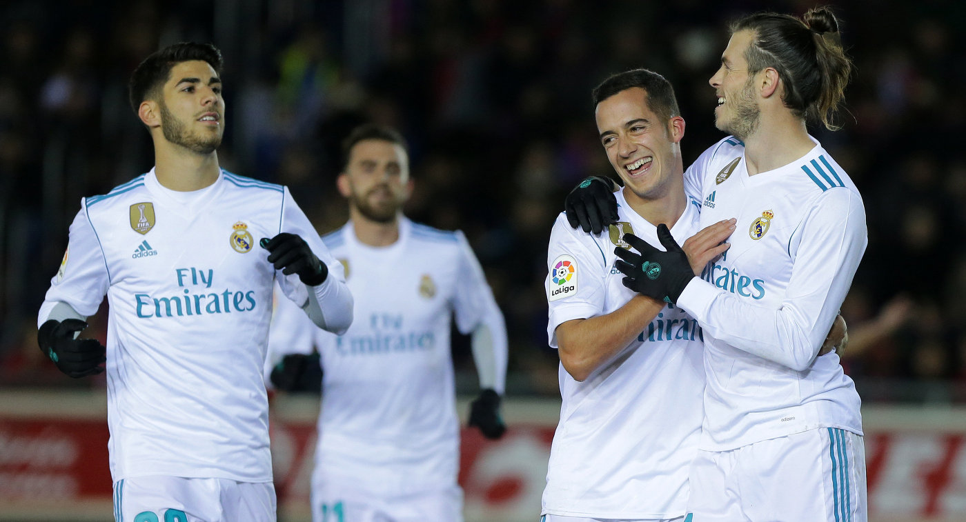 «Реал» разгромил «Нумансию» в1/8 финала Кубка Испании