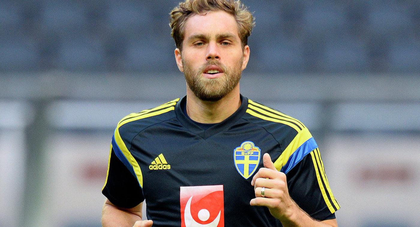 Экс-футболист сборной Швеции Эльмандер объявил озавершении карьеры