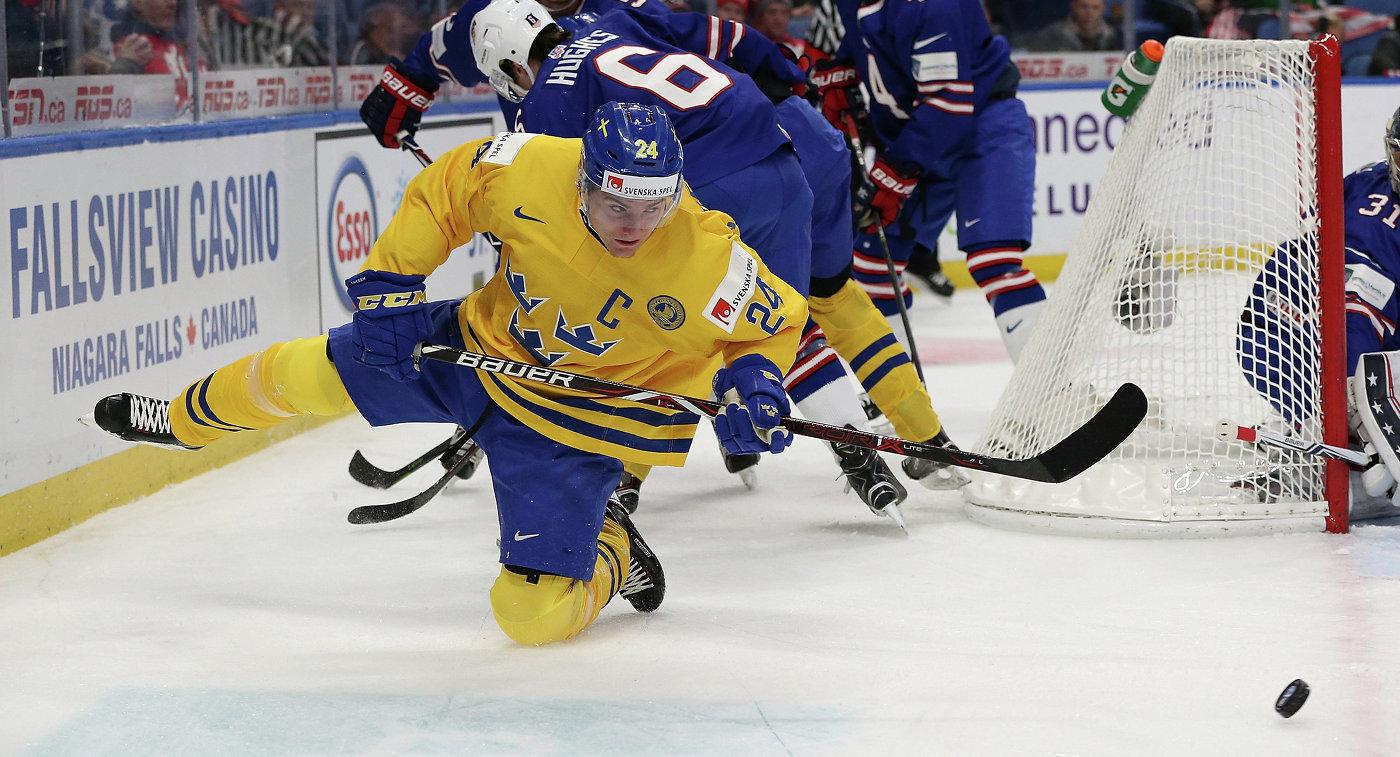 Капитан сборной Швеции выбросил медаль после поражения наМЧМ