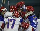 Хоккеистки молодежной сборной России