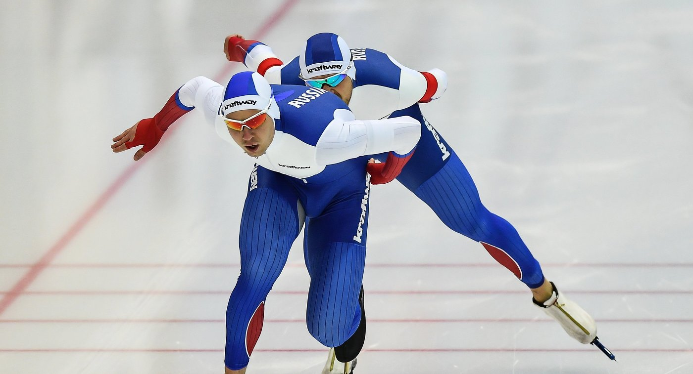 Конькобежцы изРФ стали вице-чемпионами Европы вкомандной гонке