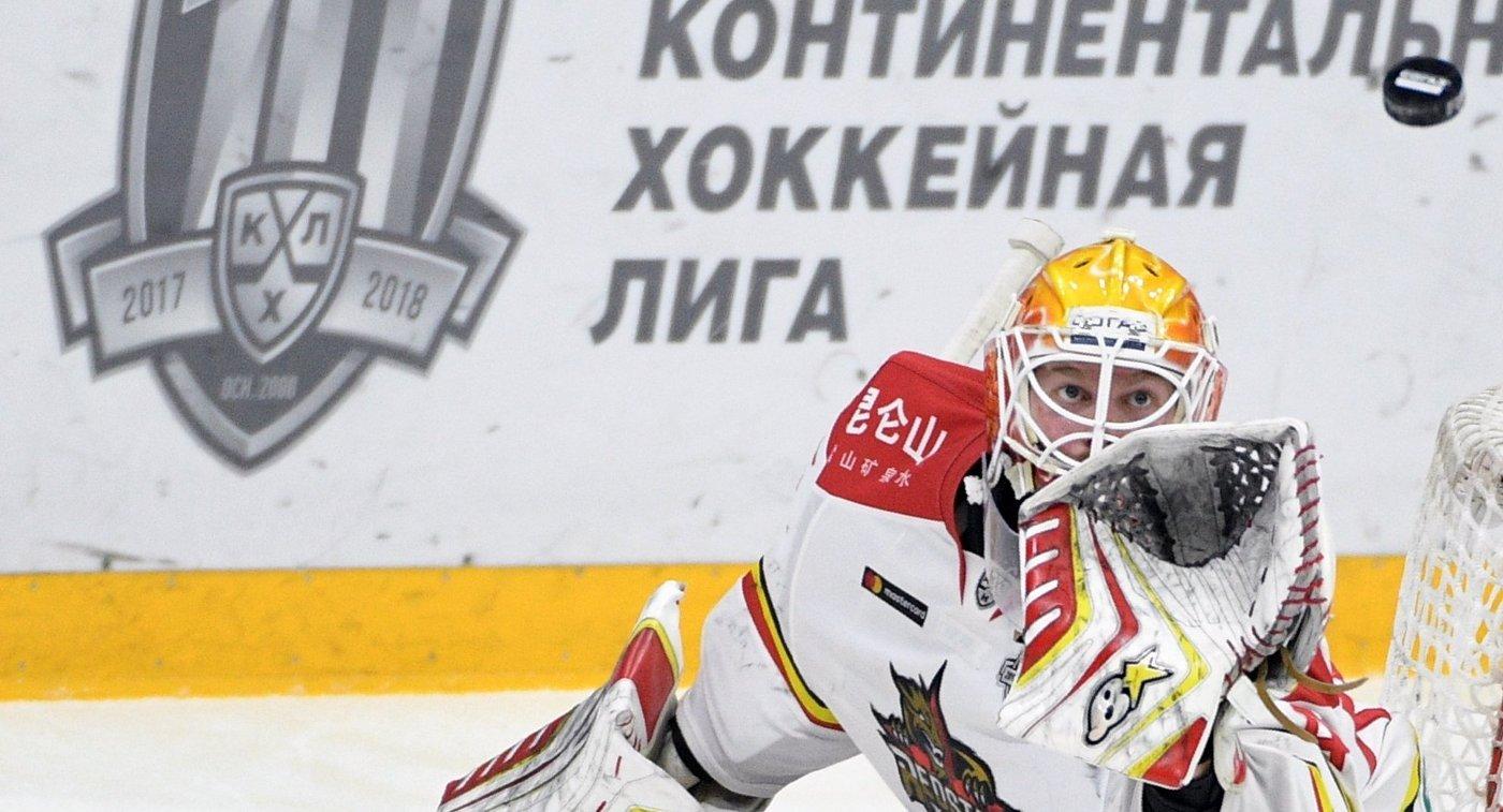 «Куньлунь» потерпел пятое поражение подряд вКХЛ, проиграв «Барысу»