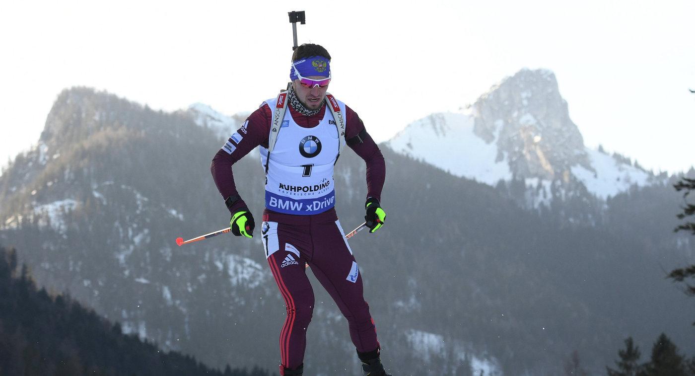 Биатлонист Логинов одержал победу спринт начемпионате РФ