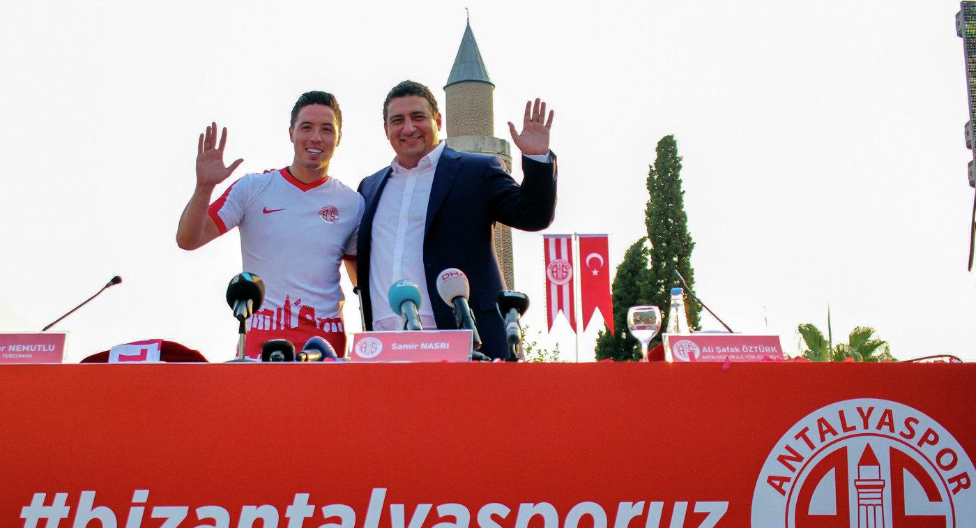 CAS поддержал решение УЕФА, который отказал футболисту Насри вполучении TUE