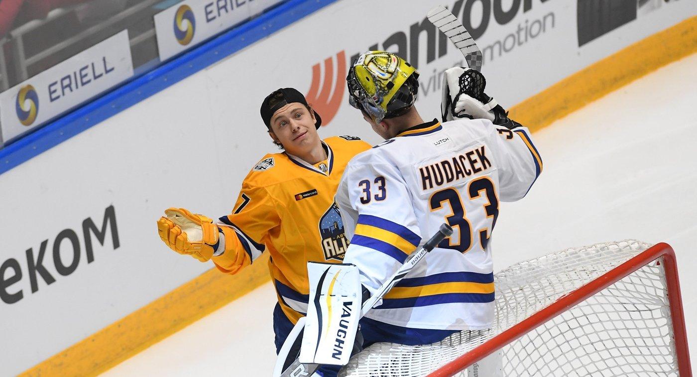 Никита Гусев и Юлиус Гудачек (слева направо)