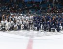 Хоккеисты дивизиона Чернышова и хоккеисты дивизиона Тарасова